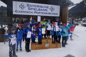 Nordisch Bambini Rennen in Kaltenbrunn